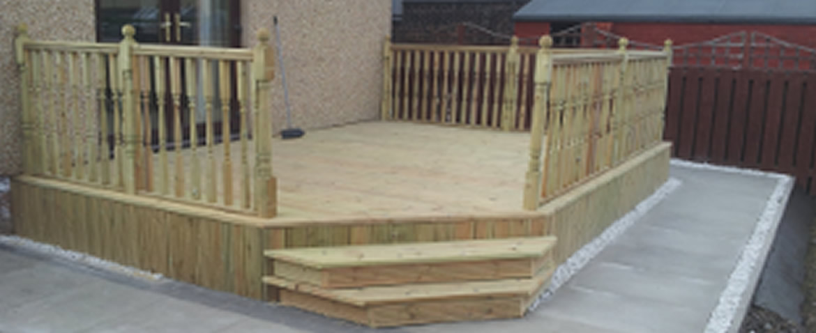 Contact us for Decking special offers