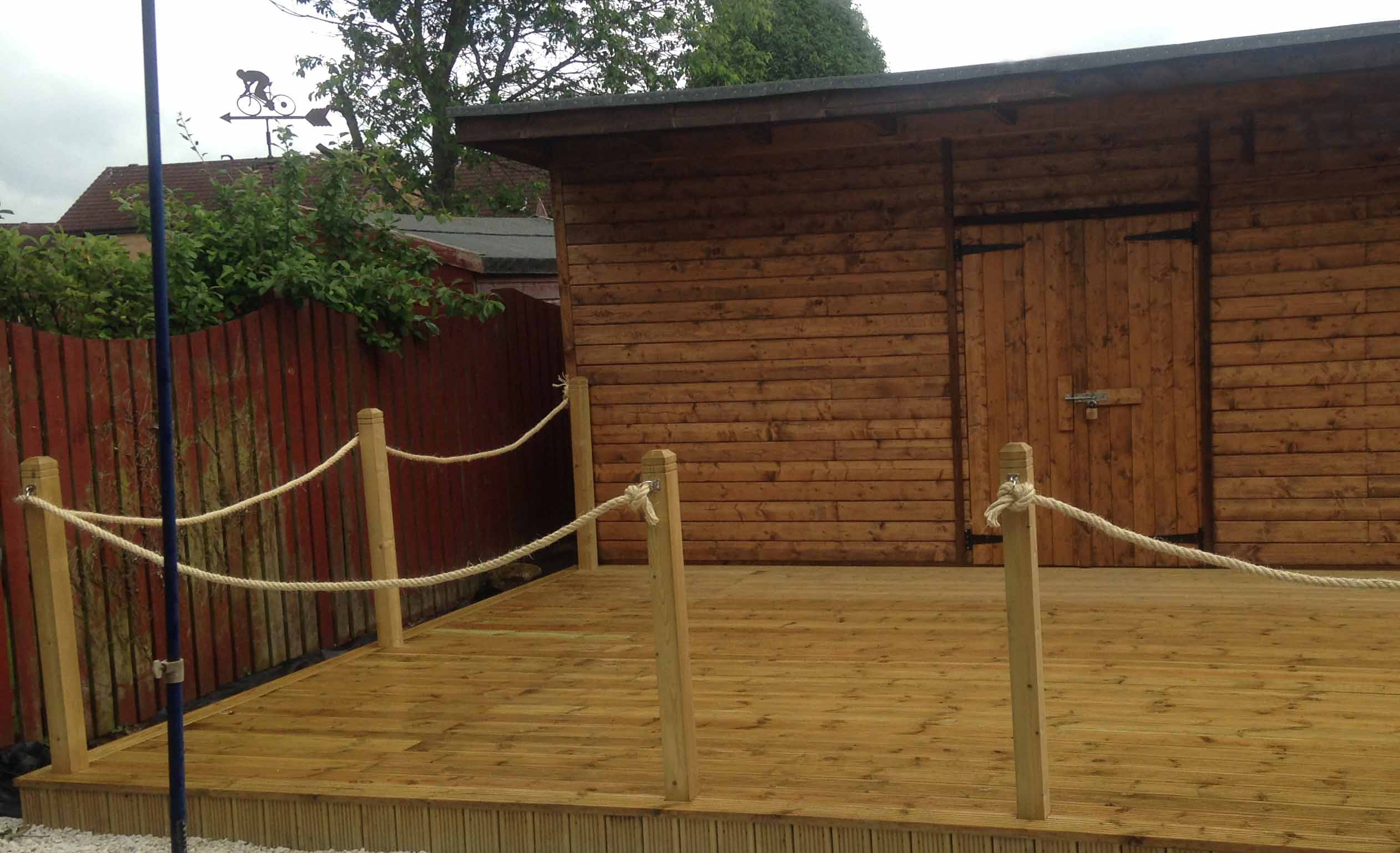 Decking for Garden decking quotes uk